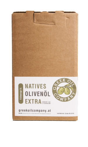 Greekoil Company Olivenöl-in-box