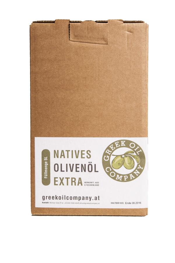 Greekoil Company Olivenöl-in-box