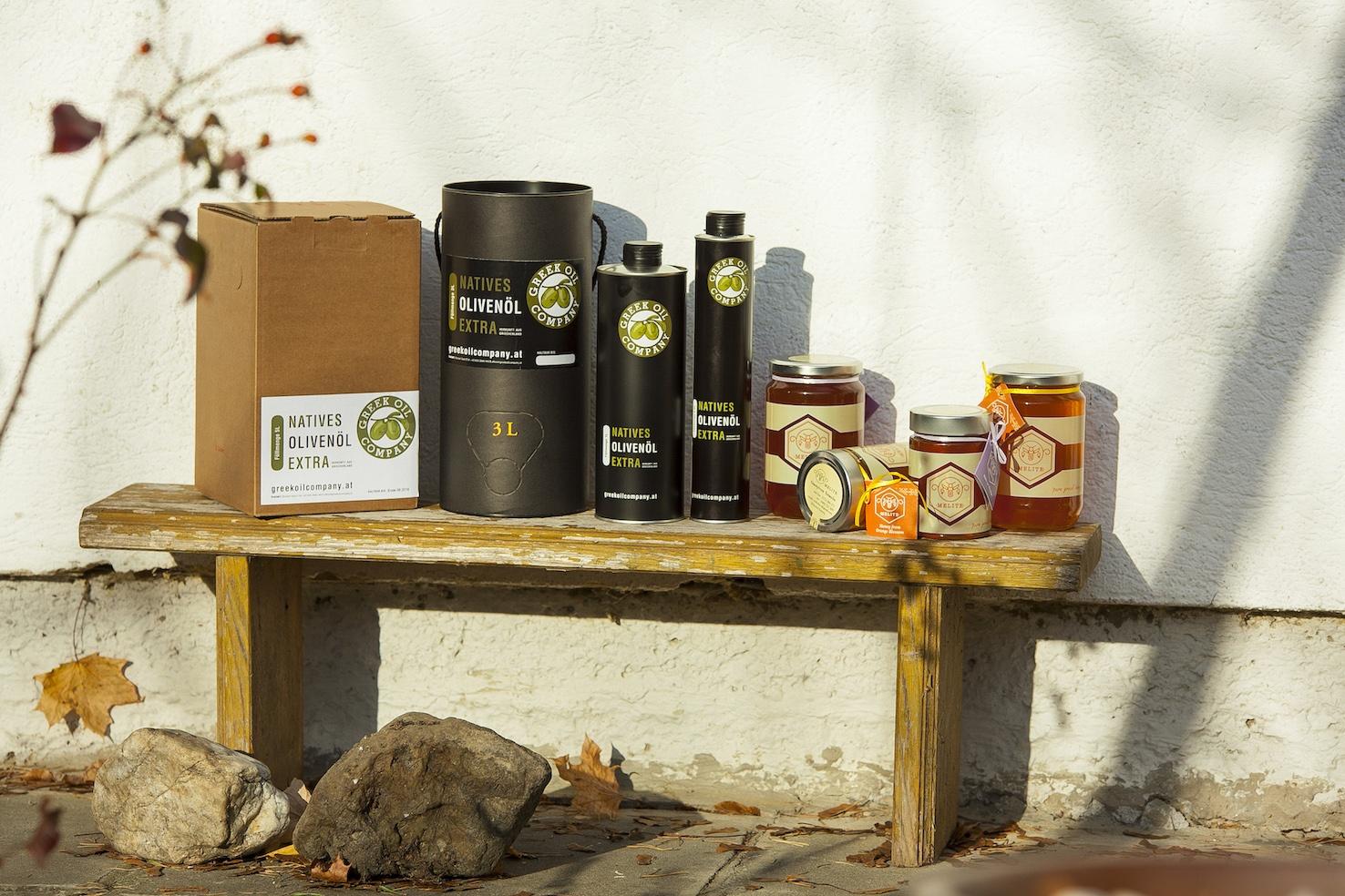 Produktübersicht Olivenöl